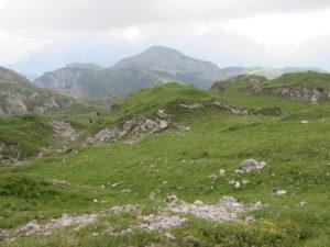 monte Ferro alle spalle di Sappada