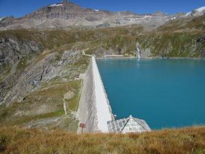 diga del lago Goillet