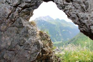 vista da una postazione austriaca
